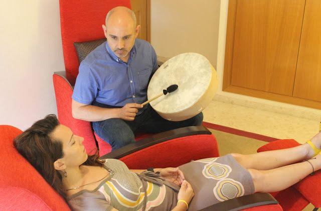 seesion tambor chamánico terapia