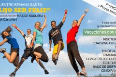 """VACACIONES SEMANA SANTA – """"Elijo Ser Feliz"""""""